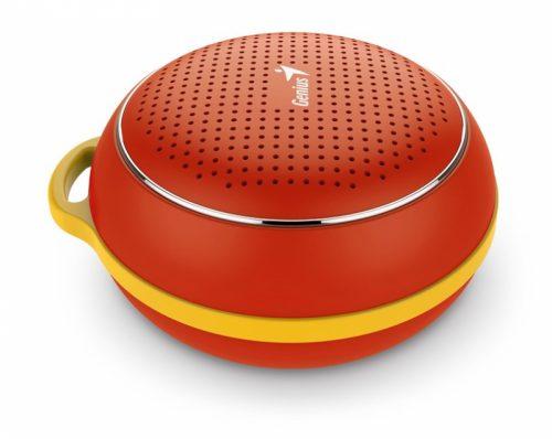 Balix I Genius bluetooth zvočnik SP-906BT Zvočnik v velikosti hokejskega ploščka ima vgrajen Bluetooth 4.1 ter dodan akustični efekt