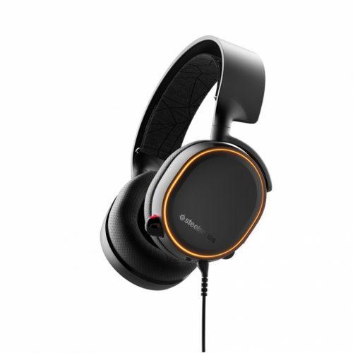 Balix I V sklopu sodelovanja z DTS HEadphones:X je SteelSeries naredil Arctics 5 slušalke. Izdelane so tako
